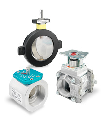 Siemens Industrial Butterfly Control Valves